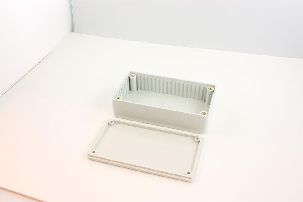 BOX ABS FR GREY 4.4X2.4X1.1