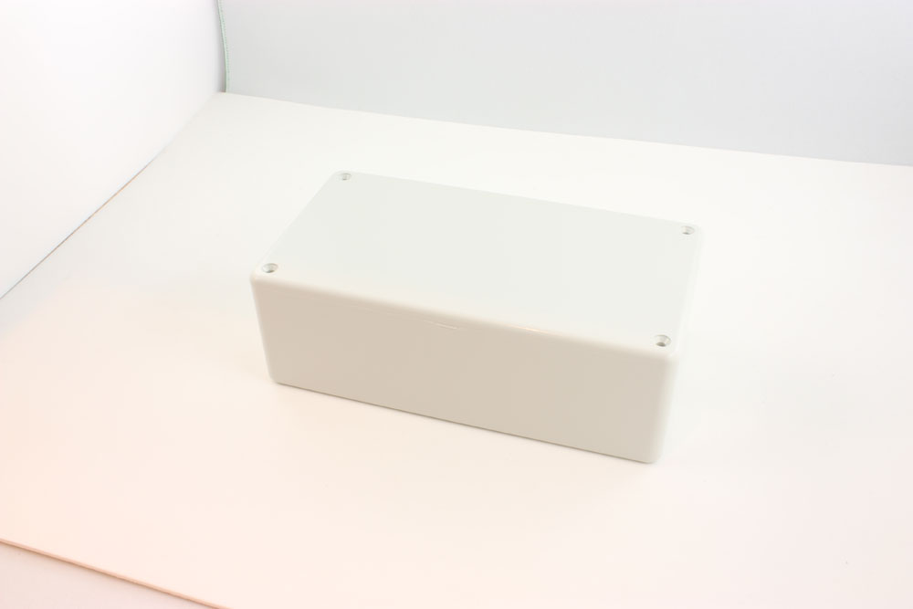 BOX ABS FR GREY 5.9X3.2X1.8