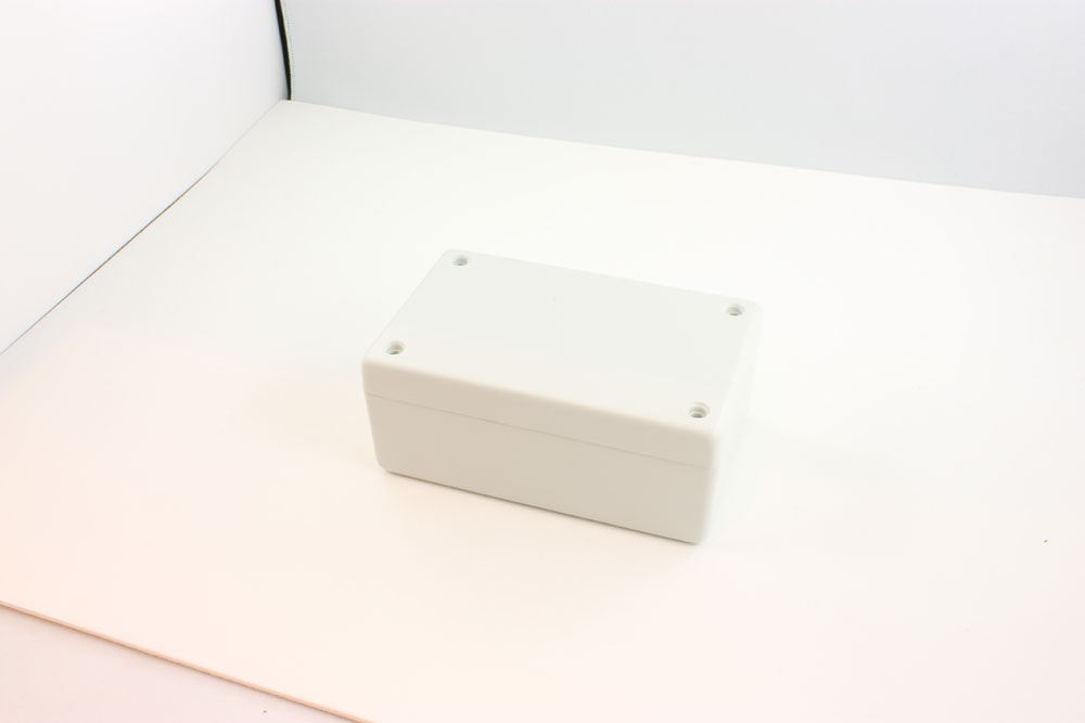 BOX ABS FR GREY 4.1X2.6X1.3