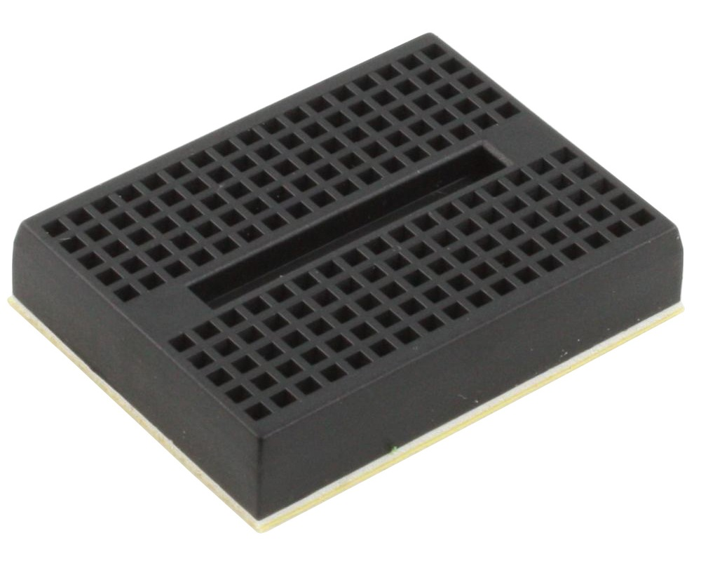 170 tie point Solderless Breadboard - BLACK 0