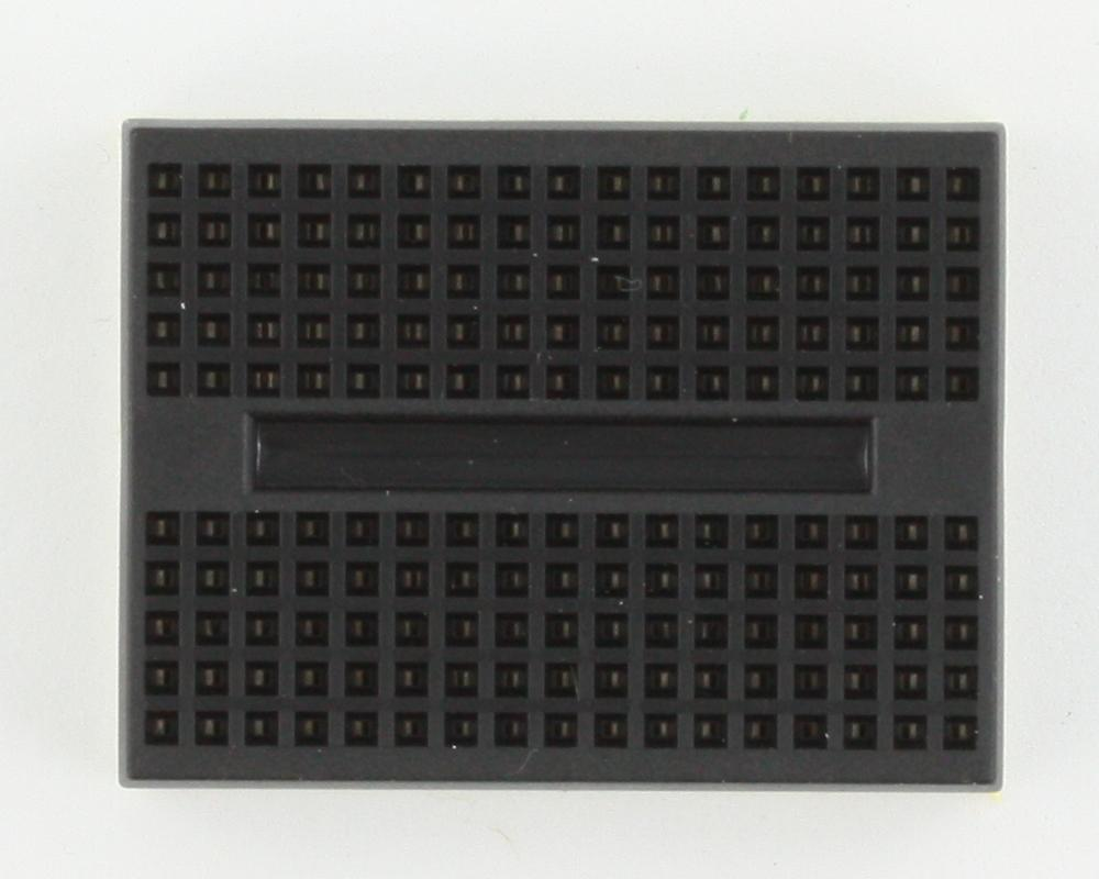170 tie point Solderless Breadboard - BLACK 1