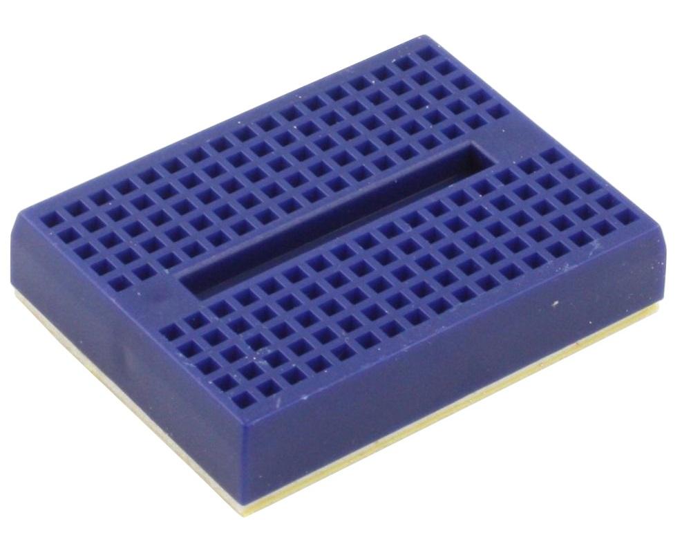 170 tie point Solderless Breadboard - BLUE 0