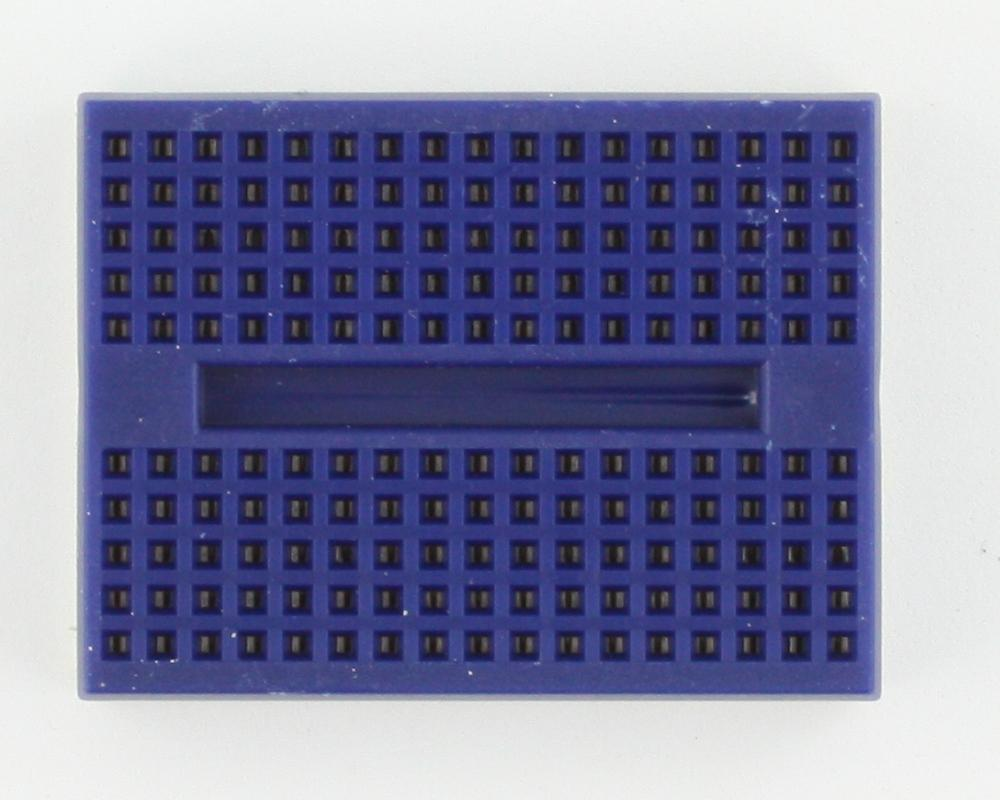 170 tie point Solderless Breadboard - BLUE 1