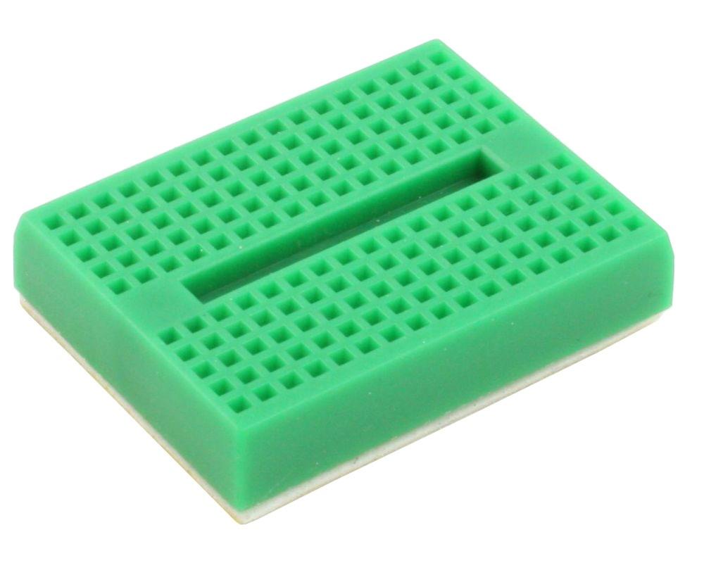 170 tie point Solderless Breadboard - GREEN 0
