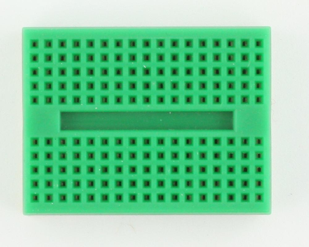 170 tie point Solderless Breadboard - GREEN 1