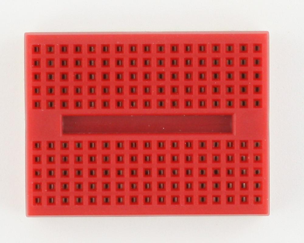 170 tie point Solderless Breadboard - RED 1