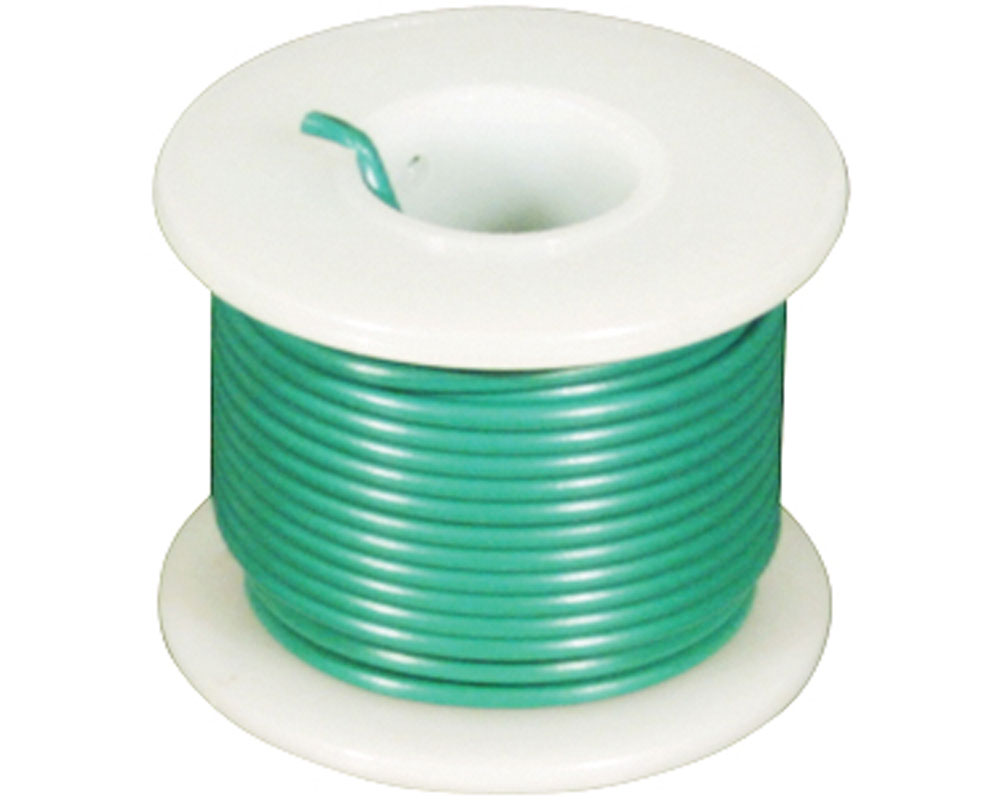 Wire - Braided Core - Green 24 AWG (25 ft.) 0