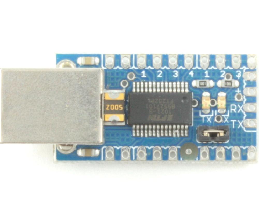 Arduino USB to Serial Converter Light 0