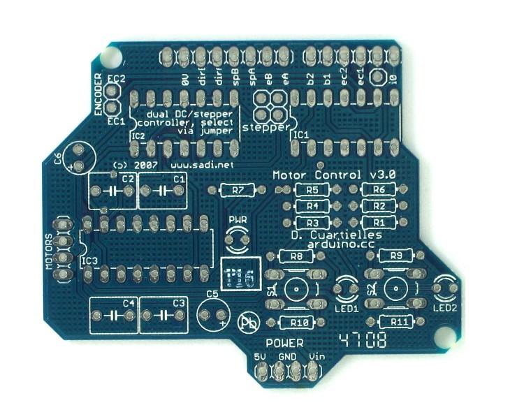 Arduino Shield - Motor PCB 0