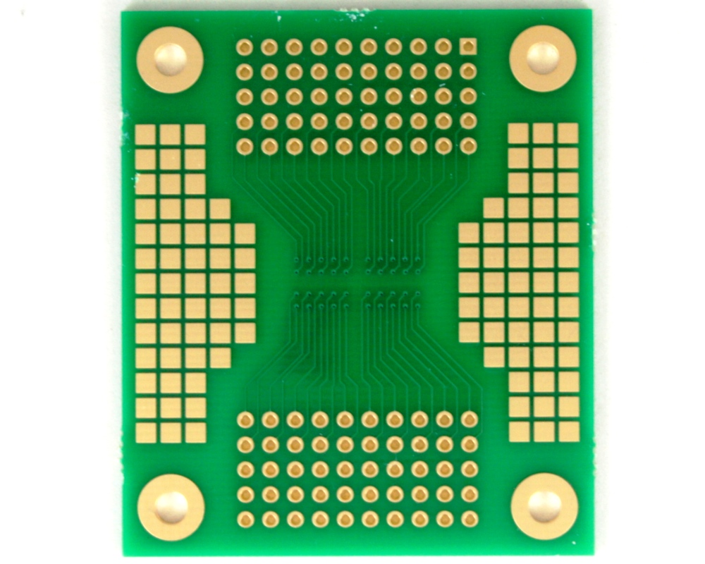 BGA-100 SMT Adapter (1.27 mm pitch, 10 x 10 grid) 1