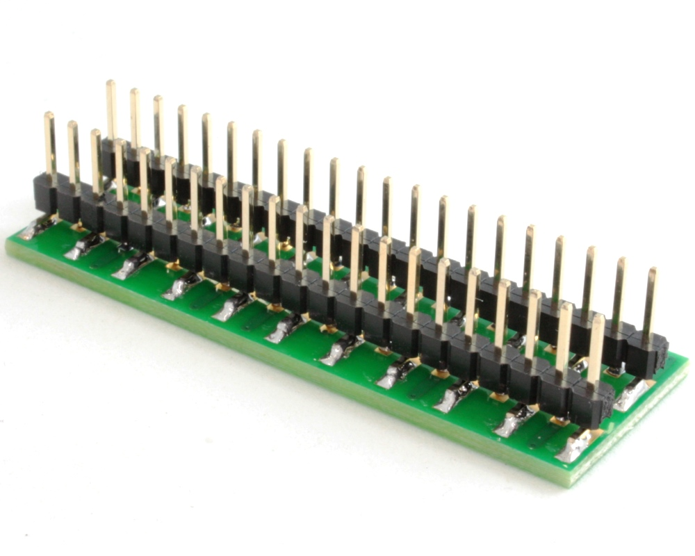 BGA-42 to DIP-42 SMT Adapter (0.5 mm pitch, 6 x 7 grid) 1
