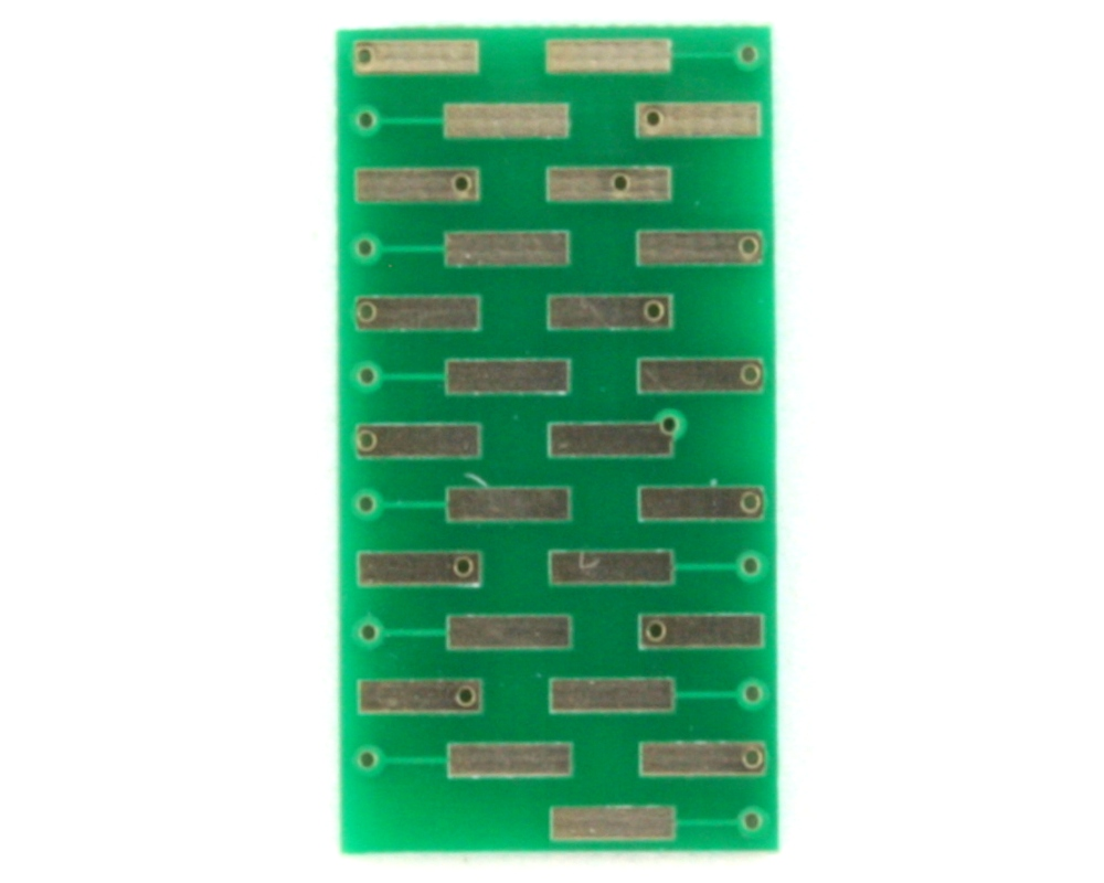 BGA-25 to DIP-25 SMT Adapter (0.5 mm pitch, 5 x 5 grid) 2