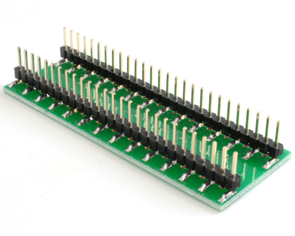 BGA-54 to DIP-54 SMT Adapter (0.75 mm pitch, 6 x 9 grid) 1