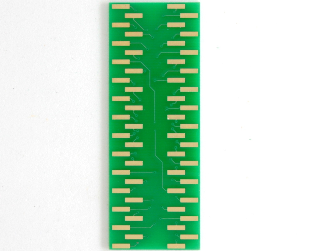 BGA-54 to DIP-54 SMT Adapter (0.75 mm pitch, 6 x 9 grid) 3
