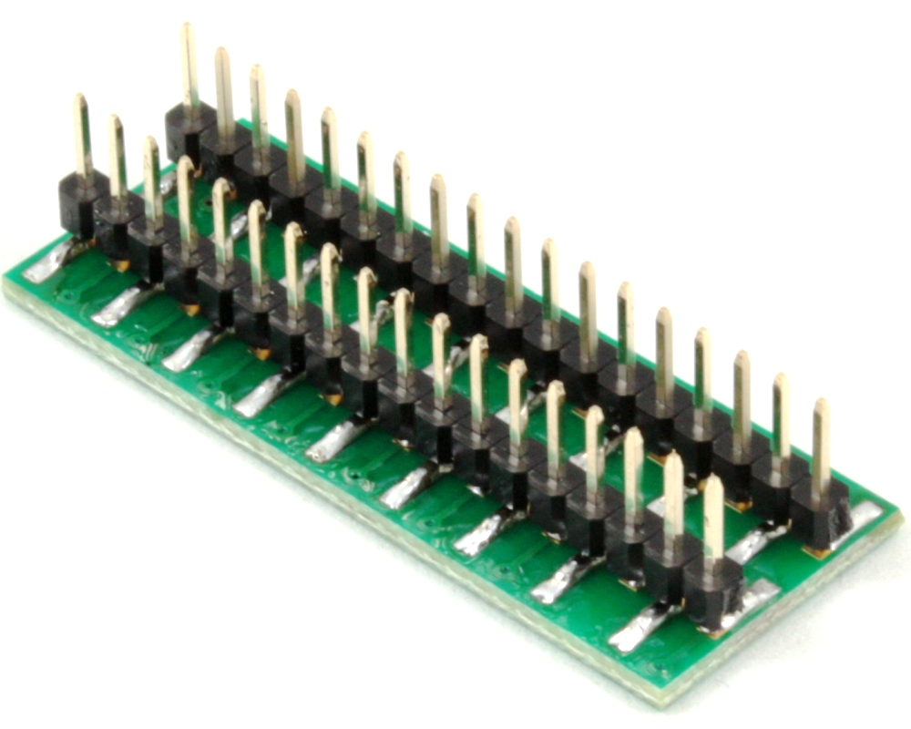 BGA-36 to DIP-36 SMT Adapter (0.4 mm pitch, 6 x 6 grid) 1