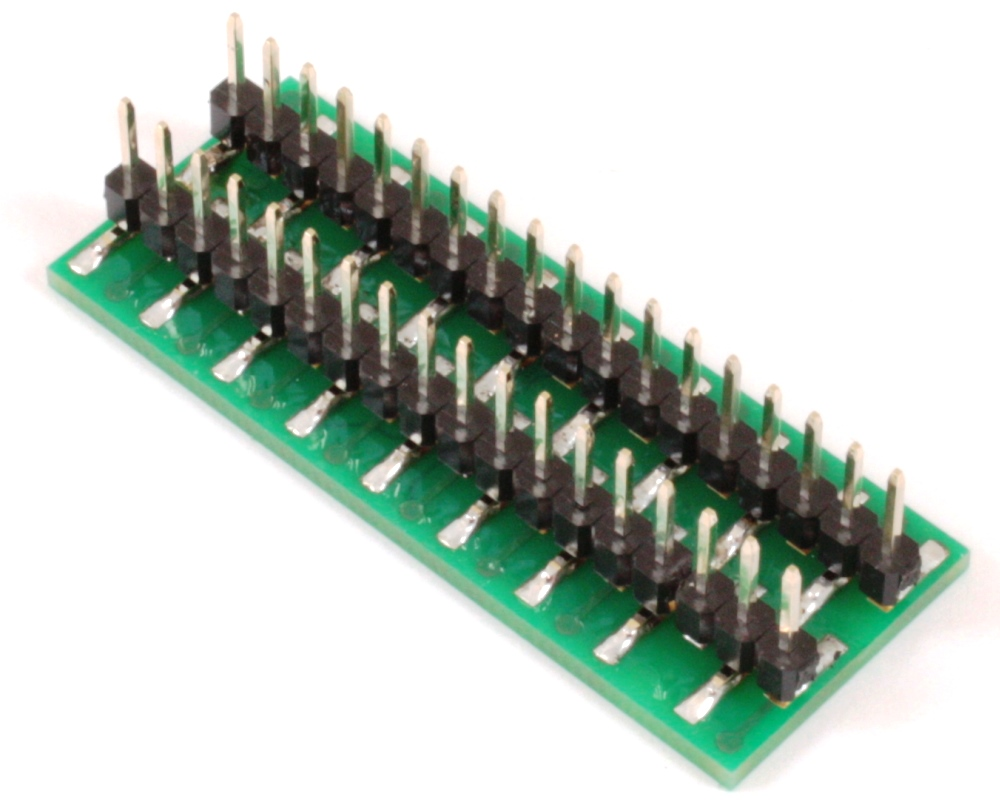 BGA-36 to DIP-36 SMT Adapter (0.35mm pitch, 6 x 6 grid) 1