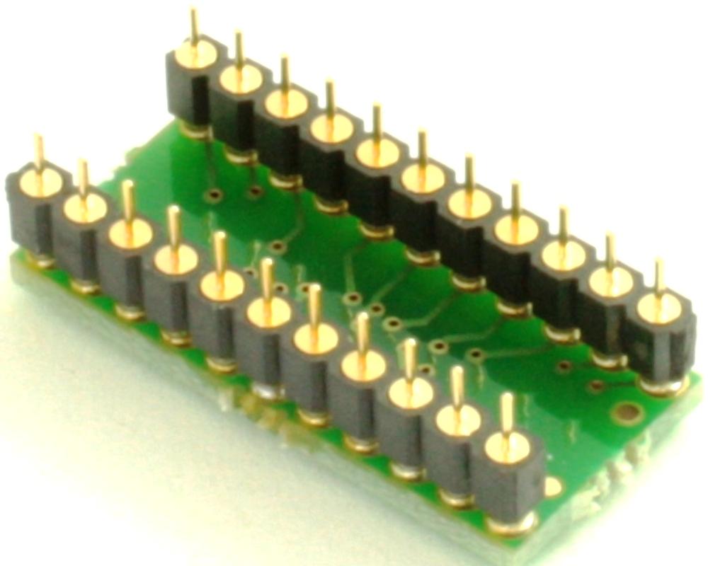Interposer - Replaces CMX469AP6 DIP-22 with CMX469AE2 SSOP-24 1