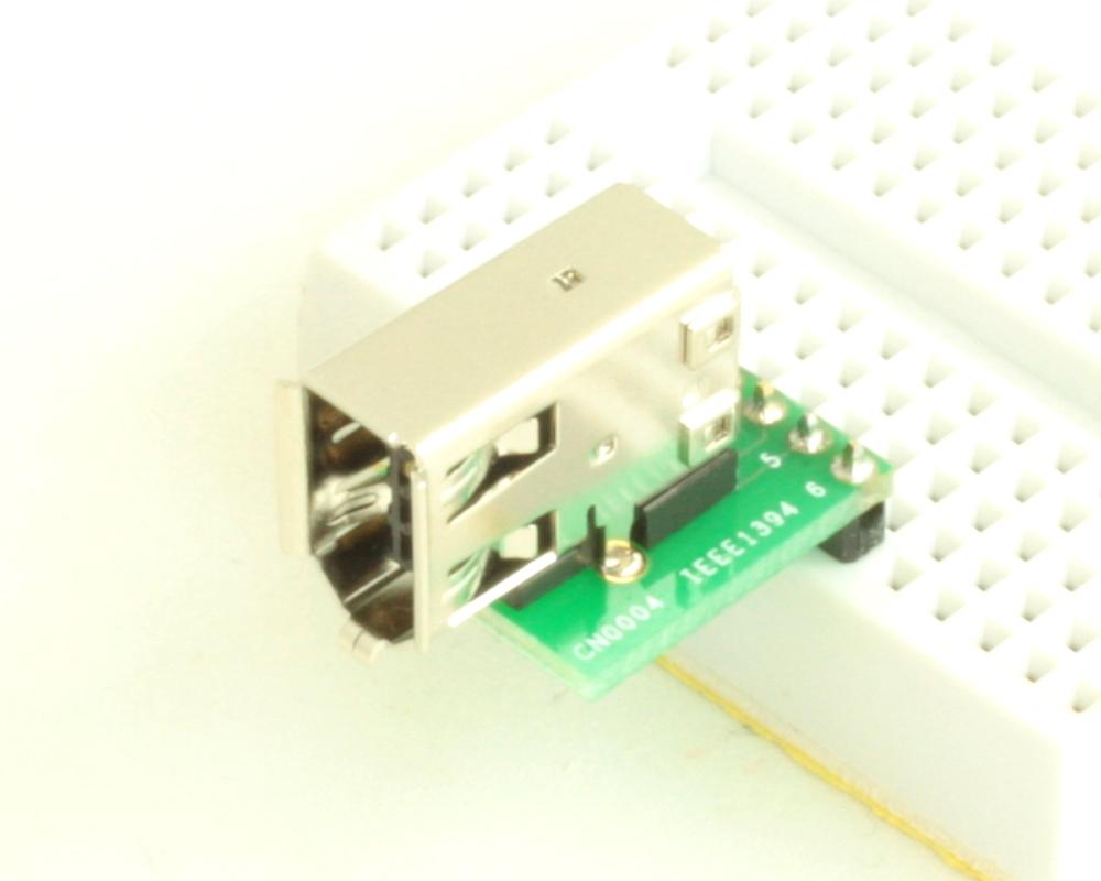 Firewire (IEEE1394) 6 pin adapter board 0