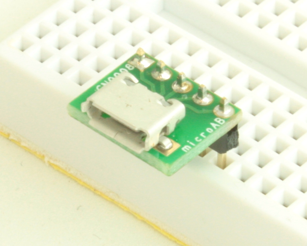 USB - micro AB adapter board 0
