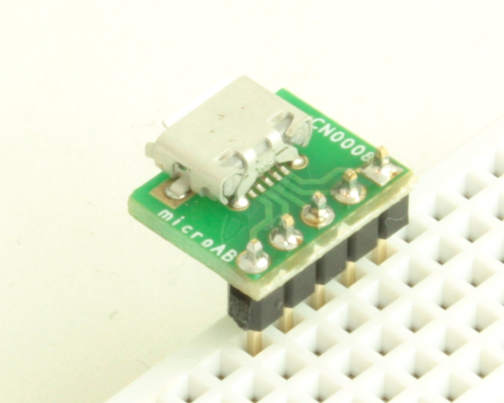 USB - micro AB adapter board 1