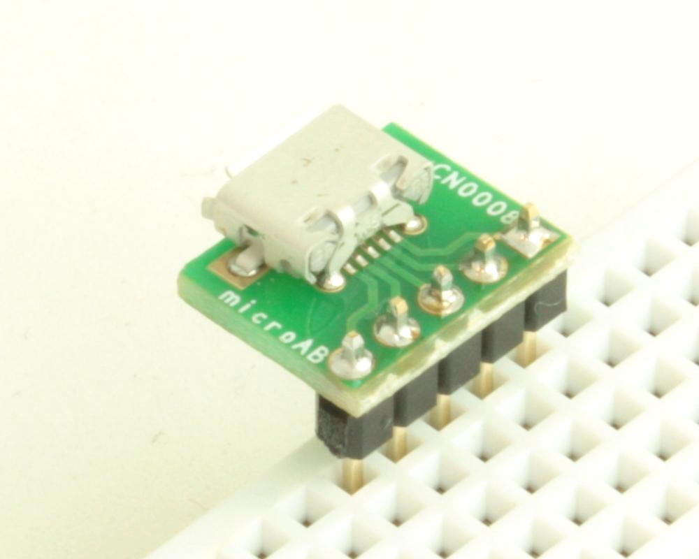 USB - micro AB adapter board 1