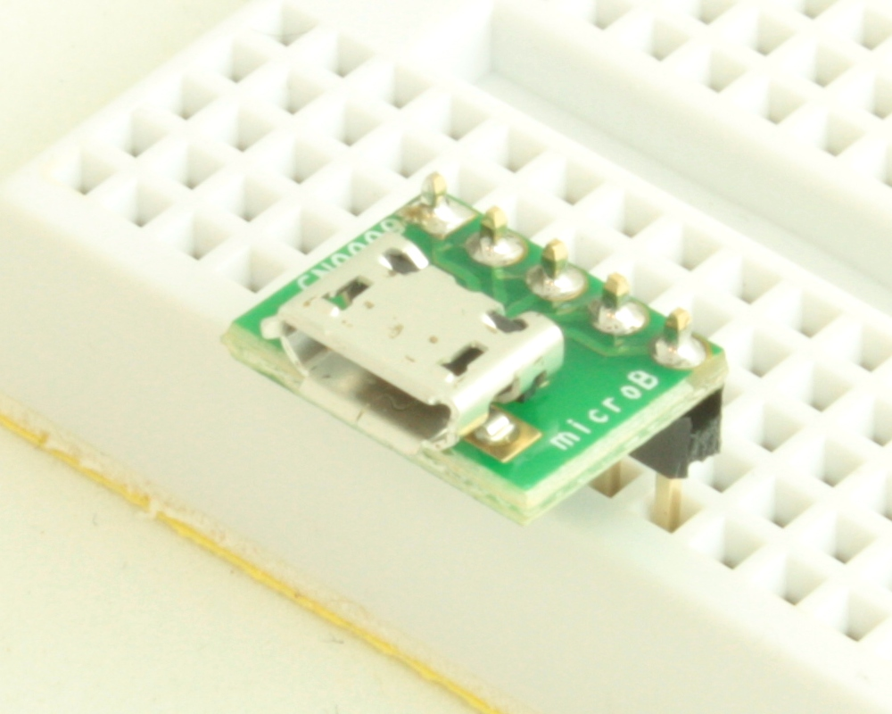 USB - micro B adapter board 0