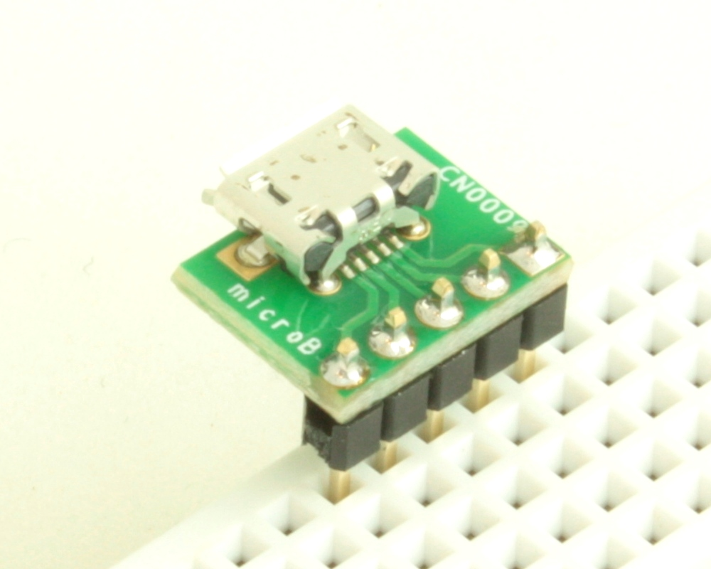 USB - micro B adapter board 1