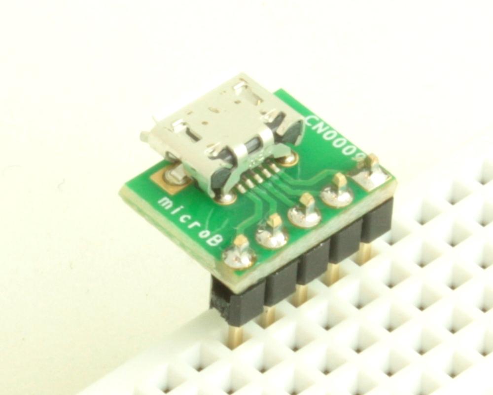 USB - micro B adapter board 1