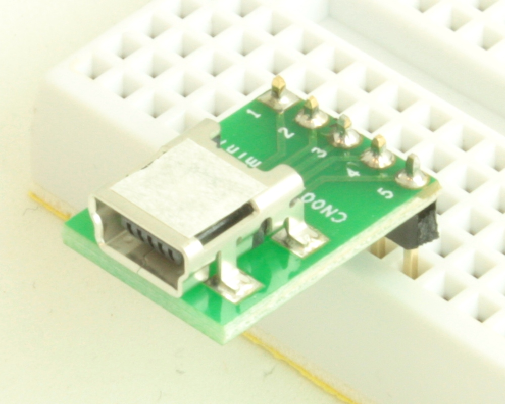 USB - mini B adapter board 0