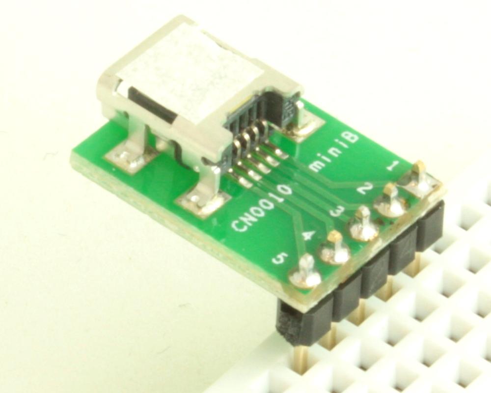 USB - mini B adapter board 1