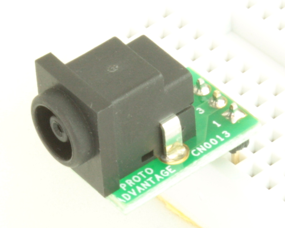 Jack 1.0mm ID, 3.3mm ID, 5.5mm OD (EIAJ-4) adapter board 0