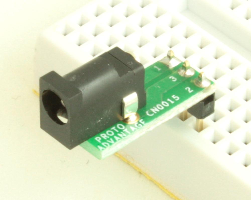 Jack 1.1mm ID, 3.5mm OD adapter board 0