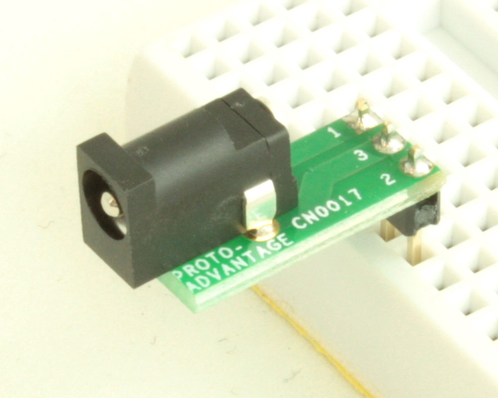 Jack 1.7mm ID, 4mm OD (EIAJ-2) adapter board 0