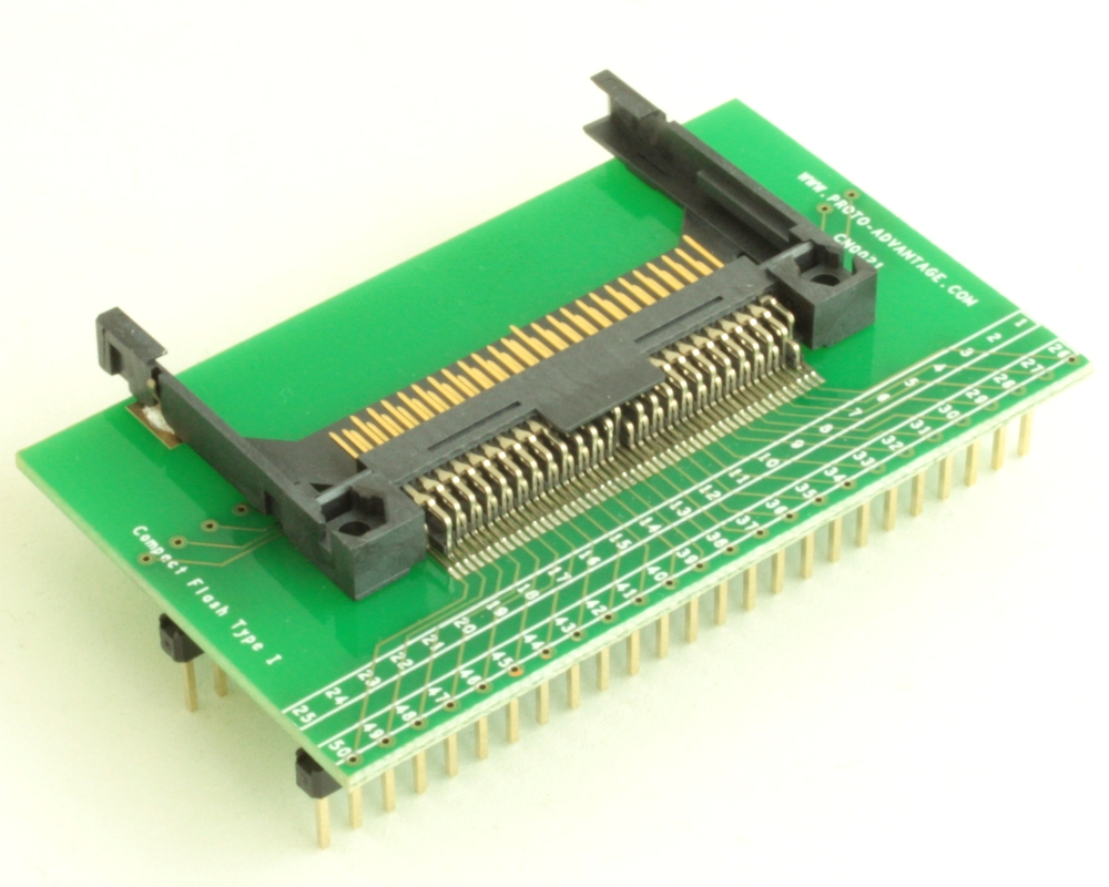 Compact Flash Type I adapter board 1