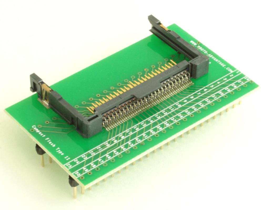 Compact Flash Type II adapter board 1