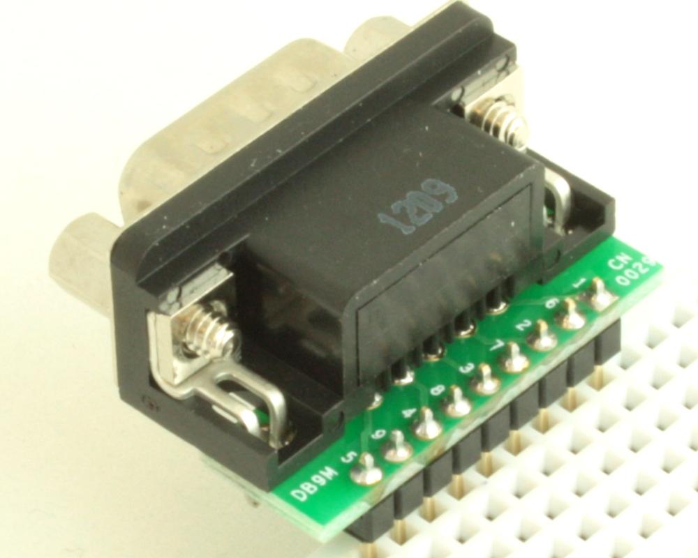 DB9 Male adapter board 1