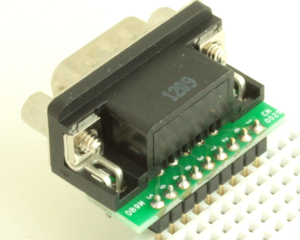 DB9 Male adapter board 1