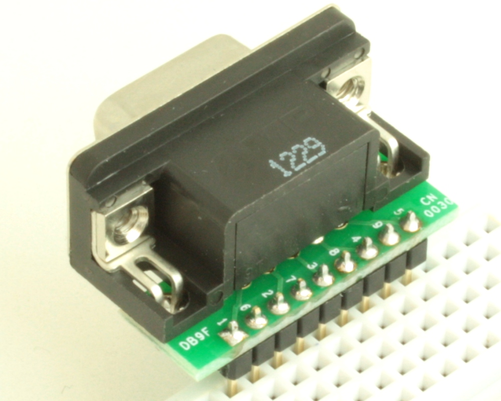 DB9 Female adapter board 1