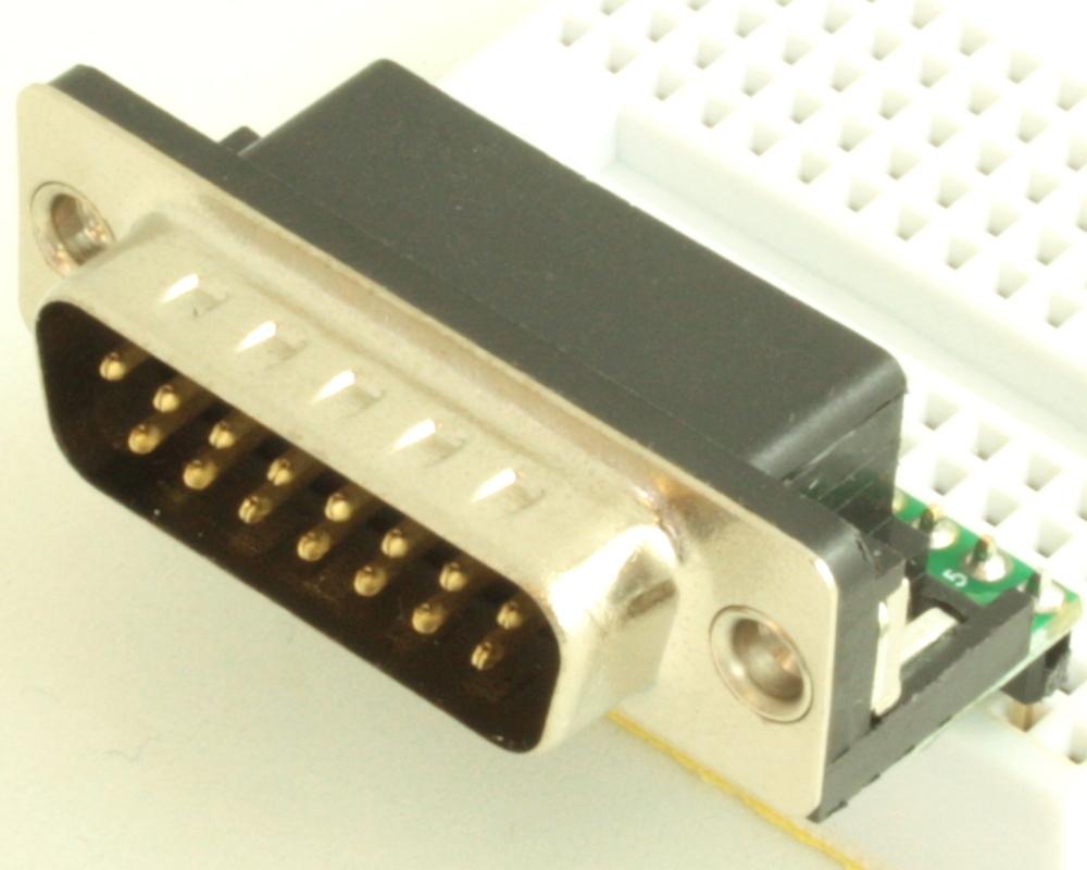 DB15 Male adapter board 0
