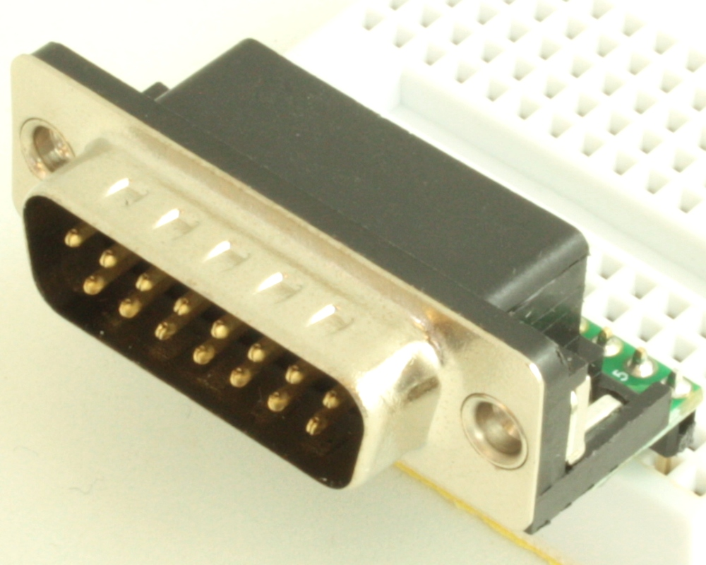 DB15 Male adapter board 0