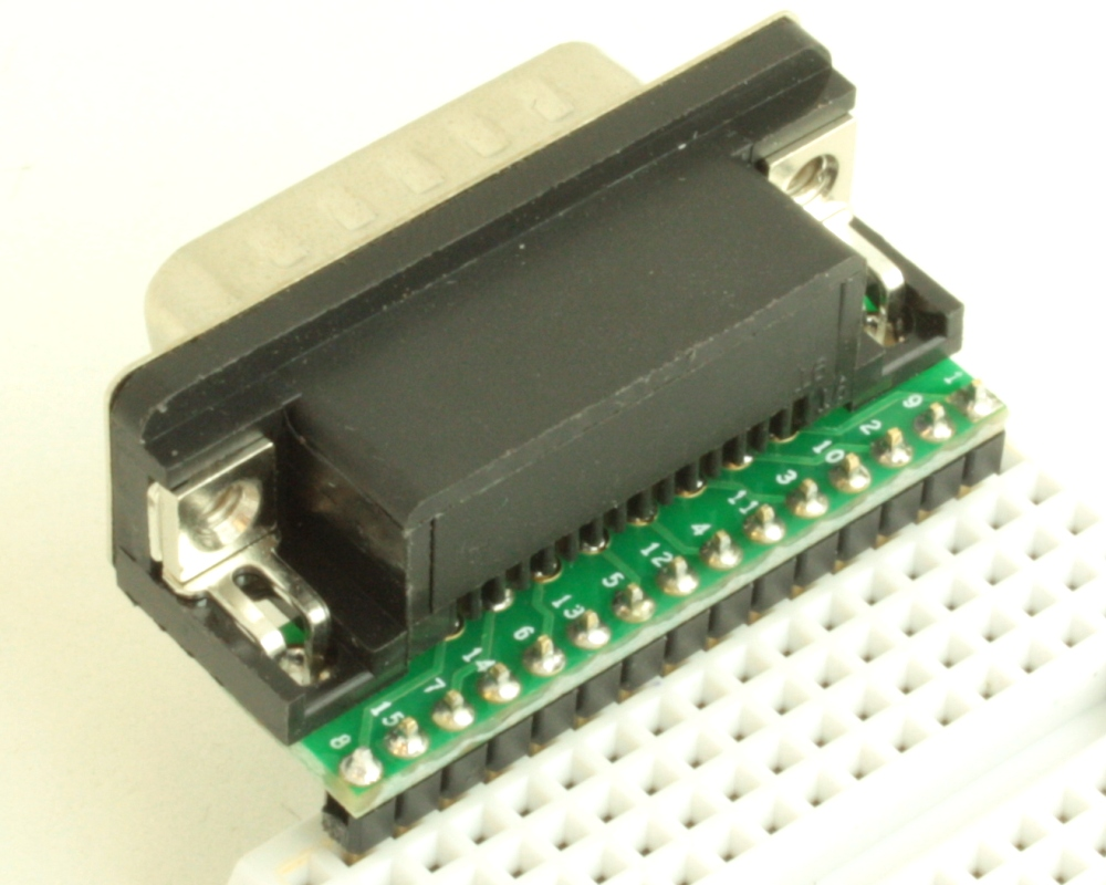 DB15 Male adapter board 1