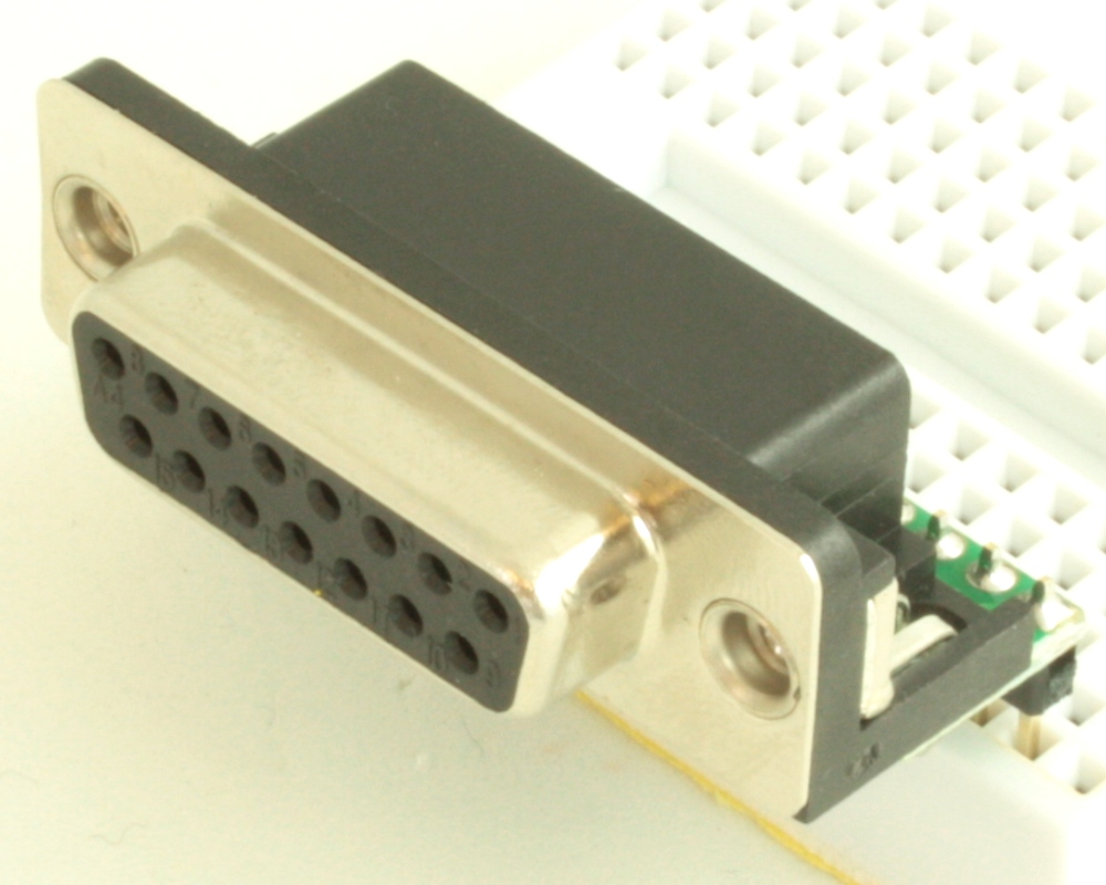 DB15 Female adapter board 0