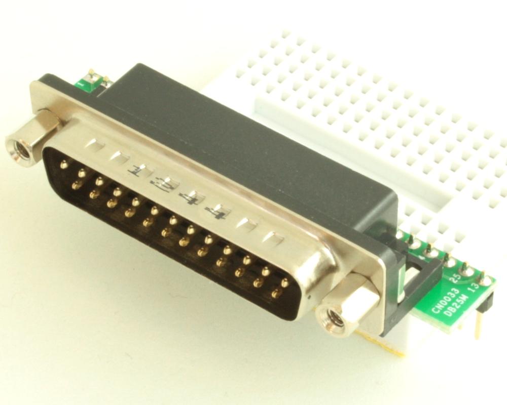 DB25 Male adapter board 0