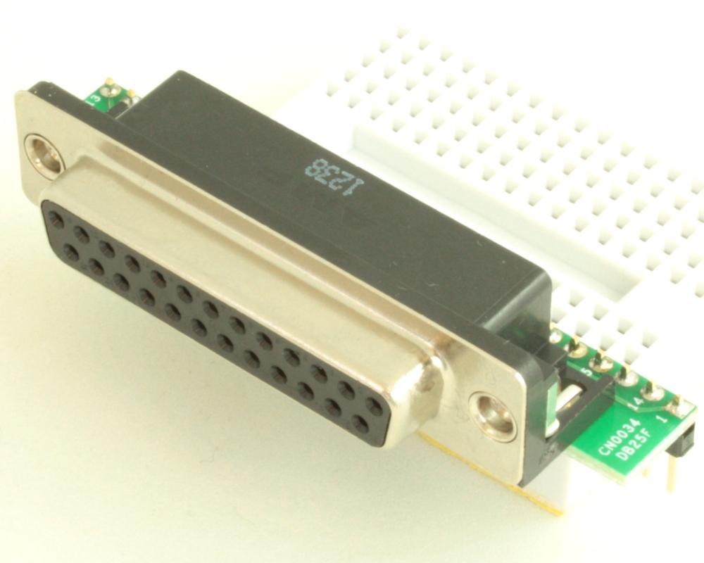 DB25 Female adapter board 0