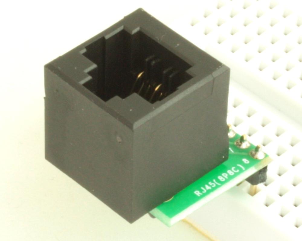 8P8C (RJ45, Ethernet) adapter board 0