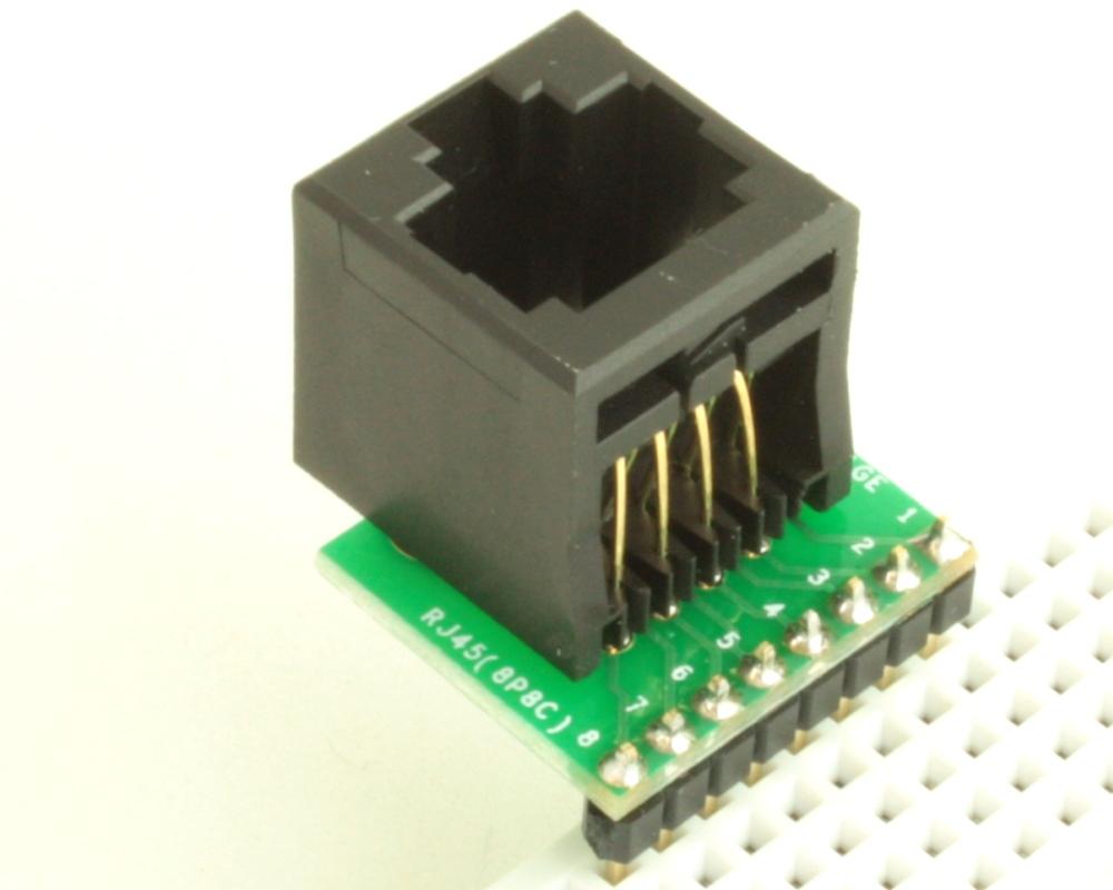 8P8C (RJ45, Ethernet) adapter board 1