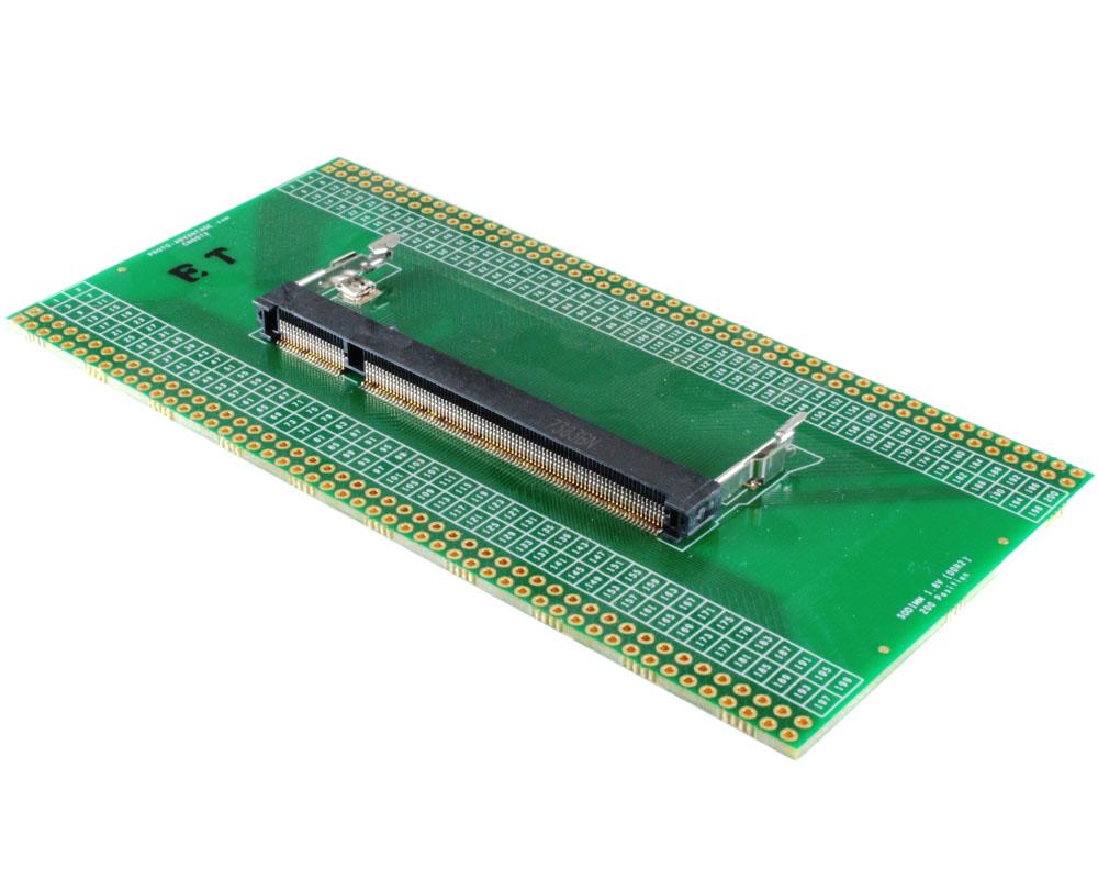 200 Position SODIMM DDR2 (1.8V) SDRAM Adapter 0