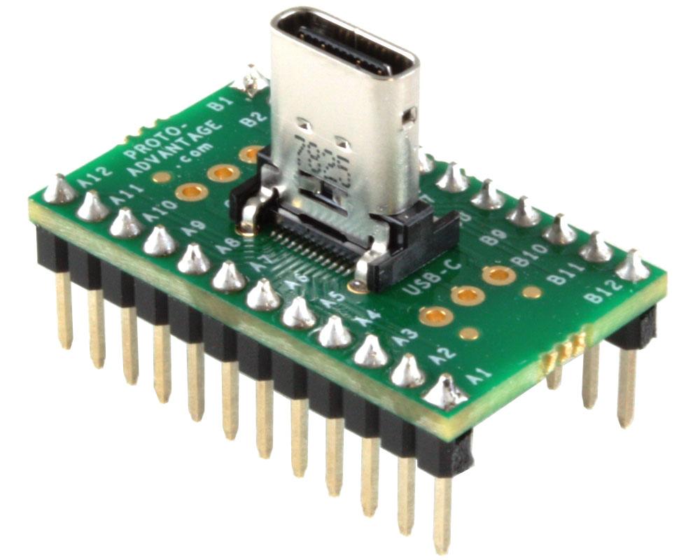 USB - C (USB 3.1 Gen 2, Superspeed+) adapter board 0