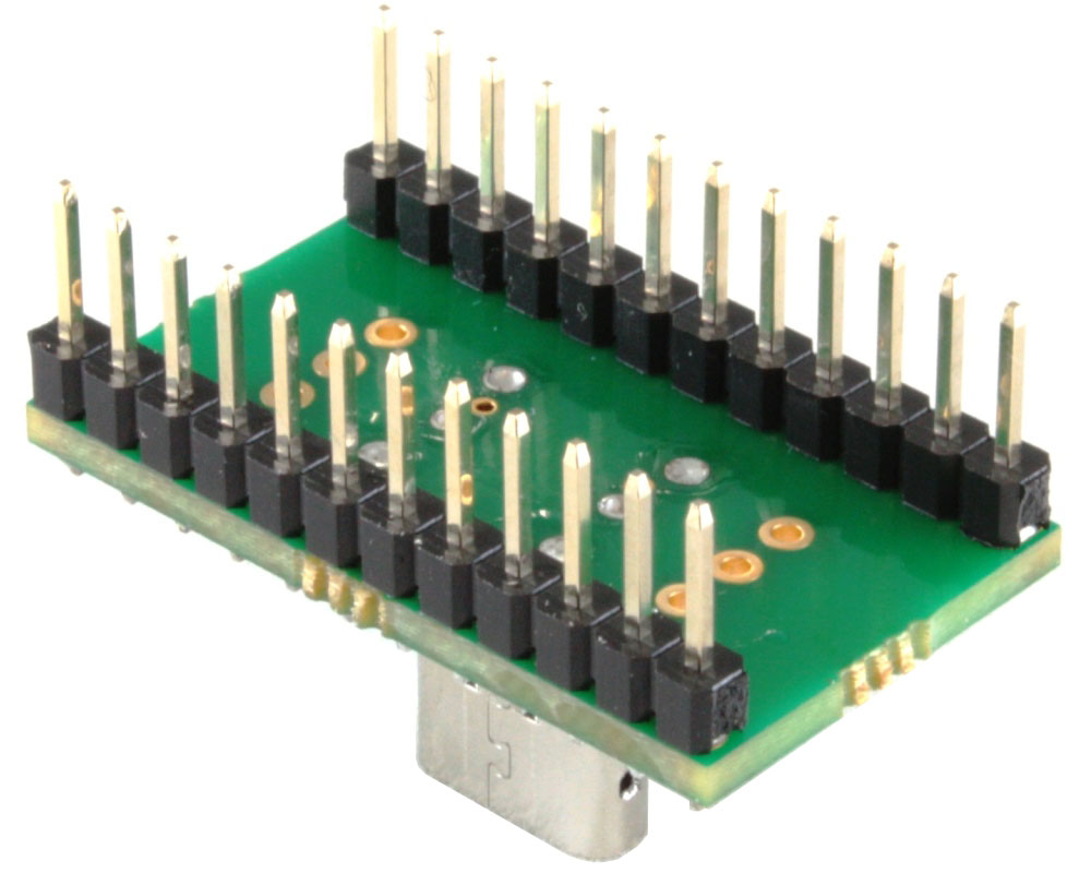 USB - C (USB 3.1 Gen 2, Superspeed+) adapter board (USB-C) (USBC) 1