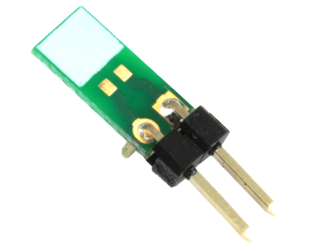 Discrete 0603 to TH Adapter - Jumper pins 0